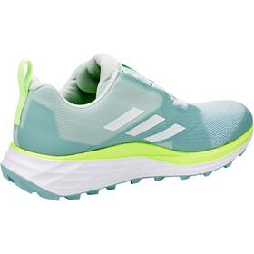 adidas TERREX Two Boa Trail Running Shoes Women, ash grey/footwear white/signal green